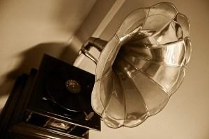 Grammophon des 19. Jahrhunderts