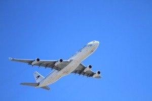 Kärcher Reiniger im Flugzeug