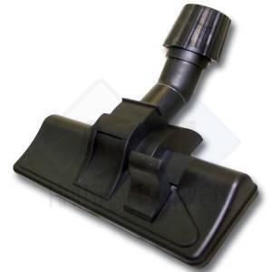 Die Umschalt- und Bodendüse ist für Teppich und Parkett geeignet und passt u.a. auf den Telios Plus.