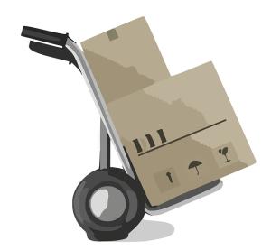 Verpackung und Lieferung Staubsauger