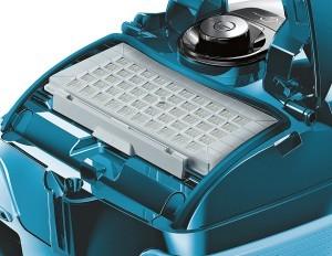 Siemens VSQ8SEN72C Bodenstaubsauger Q8.0 Power Sensor mit Hartbodendüse EEK A (powerSensor Technolog, XXL Staubbeutelvolumen, Hochleistungs-Hygienefilter) petrol [Energieklasse A]