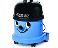 Blauer Numatic Nass und Trockensauger Charles im Staubsauger Test