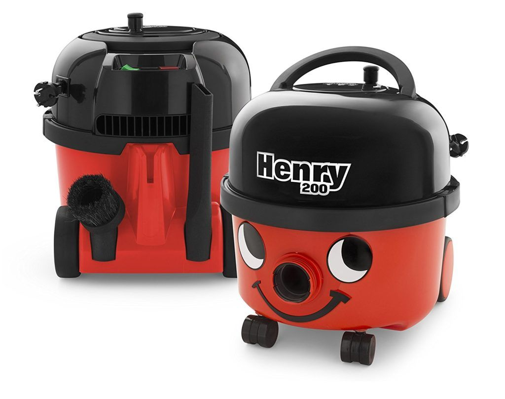 Roter Numatic Boden-Staubsauger Henry im Test