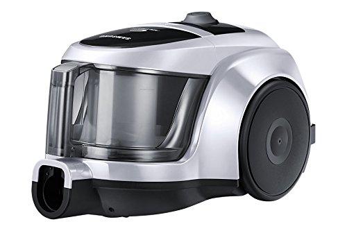 Silber-Schwarzer Staubsauger Twin Chamber von Samsung im Test