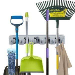 Newdora Besen Mop Halter, Gerätehalter Wandhalterung