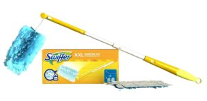 Swiffer Staubmagnet XXL Set (1 Griff und 2 Staubmagnet Tücher) 1er Pack