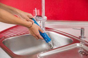 Vileda Quick & Clean Akkubesen – für schnelles Kehren ohne Bücken Reinigung